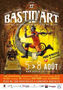 Festival Bastid'Art 2021 - Annulé @ Miramont-De-Guyenne